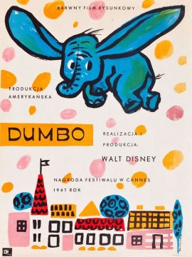 Dumbo(tcheque)-60x80