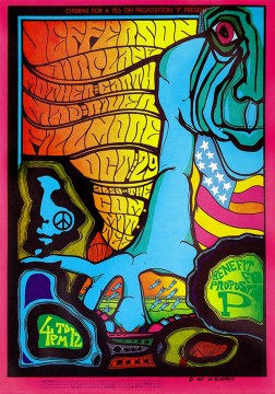 Jefferson Airplane _Benefit for Proposition P_ Fillmore Concert Poster (1967)-60x85
