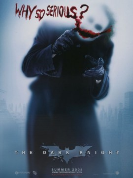dark knight - why so serious _-60x80