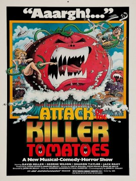 Attack killer tomatoes-60x90