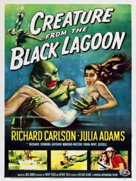 Creature from the black lagoon-USA-60x90