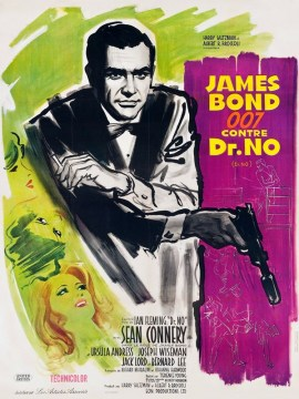 James Bond 007 contre Dr.No 60x80